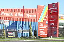 Exterior - Frank Allen Tyres